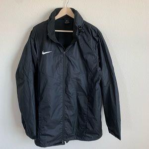 Nike Men's Black Running Jacket - 2XL -Nike Shield